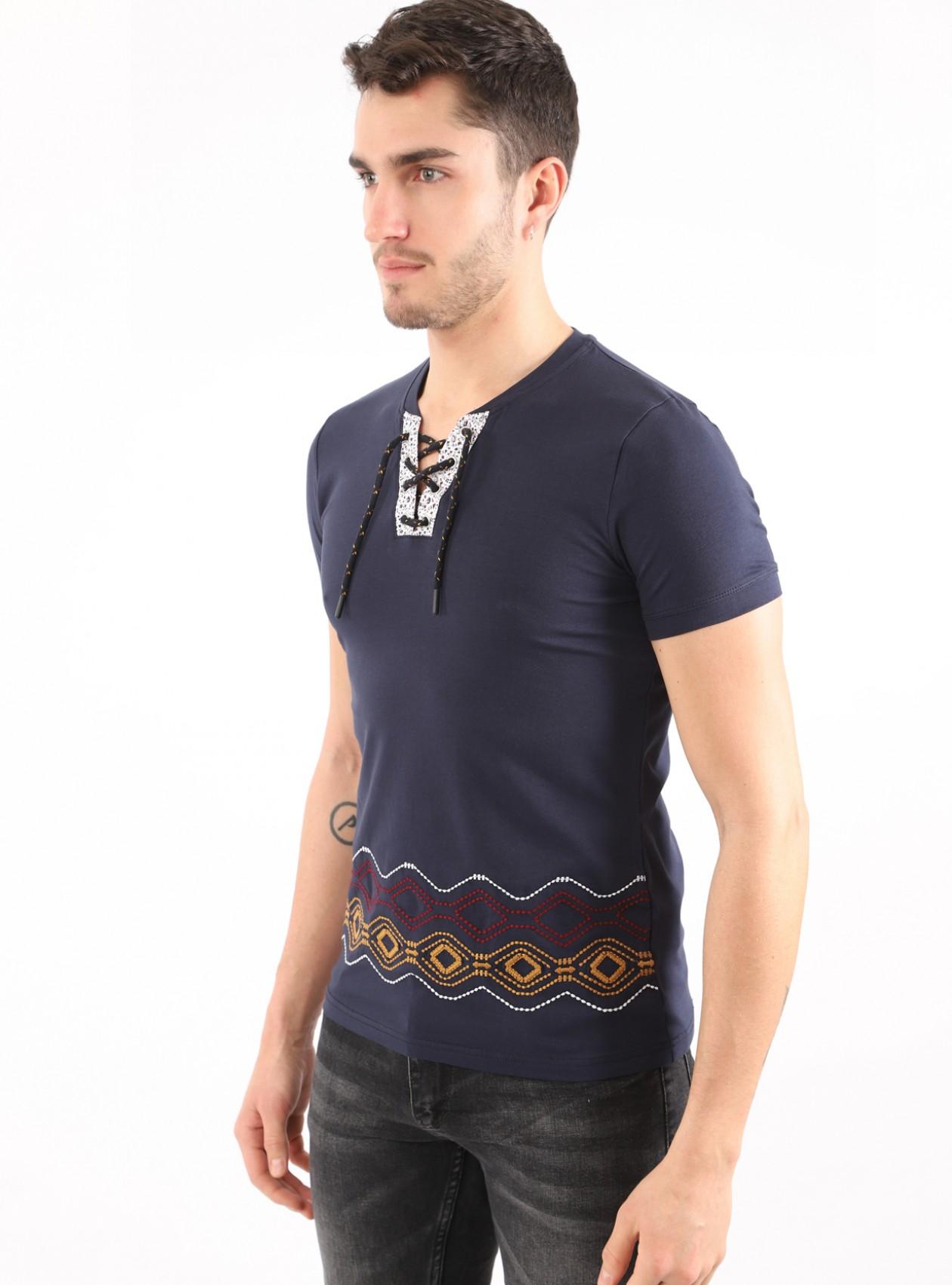 T-Shirt Homme Marine Basic
