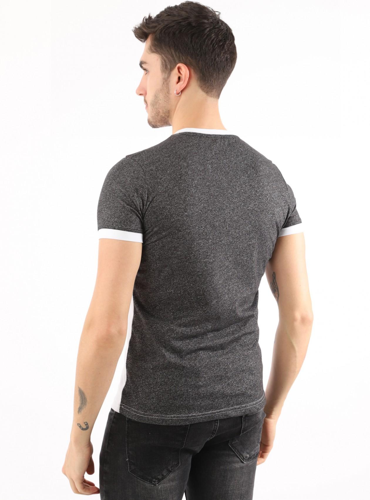 T-Shirt Homme Blanc Basic