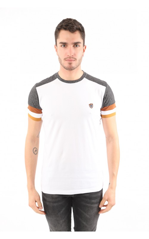 Polo Homme Gris Slim
