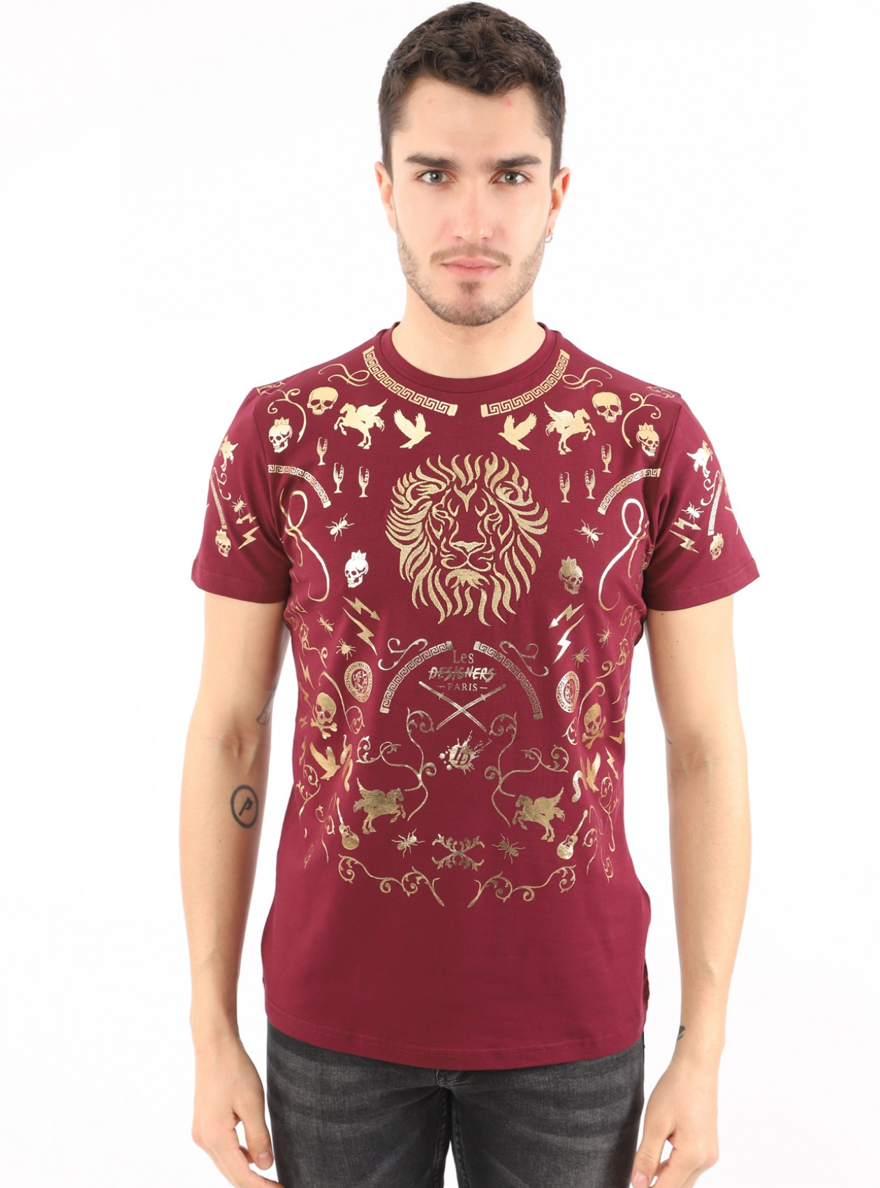 T-Shirt Homme Prune Marque