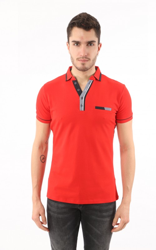 Polo Homme Rouge Marque