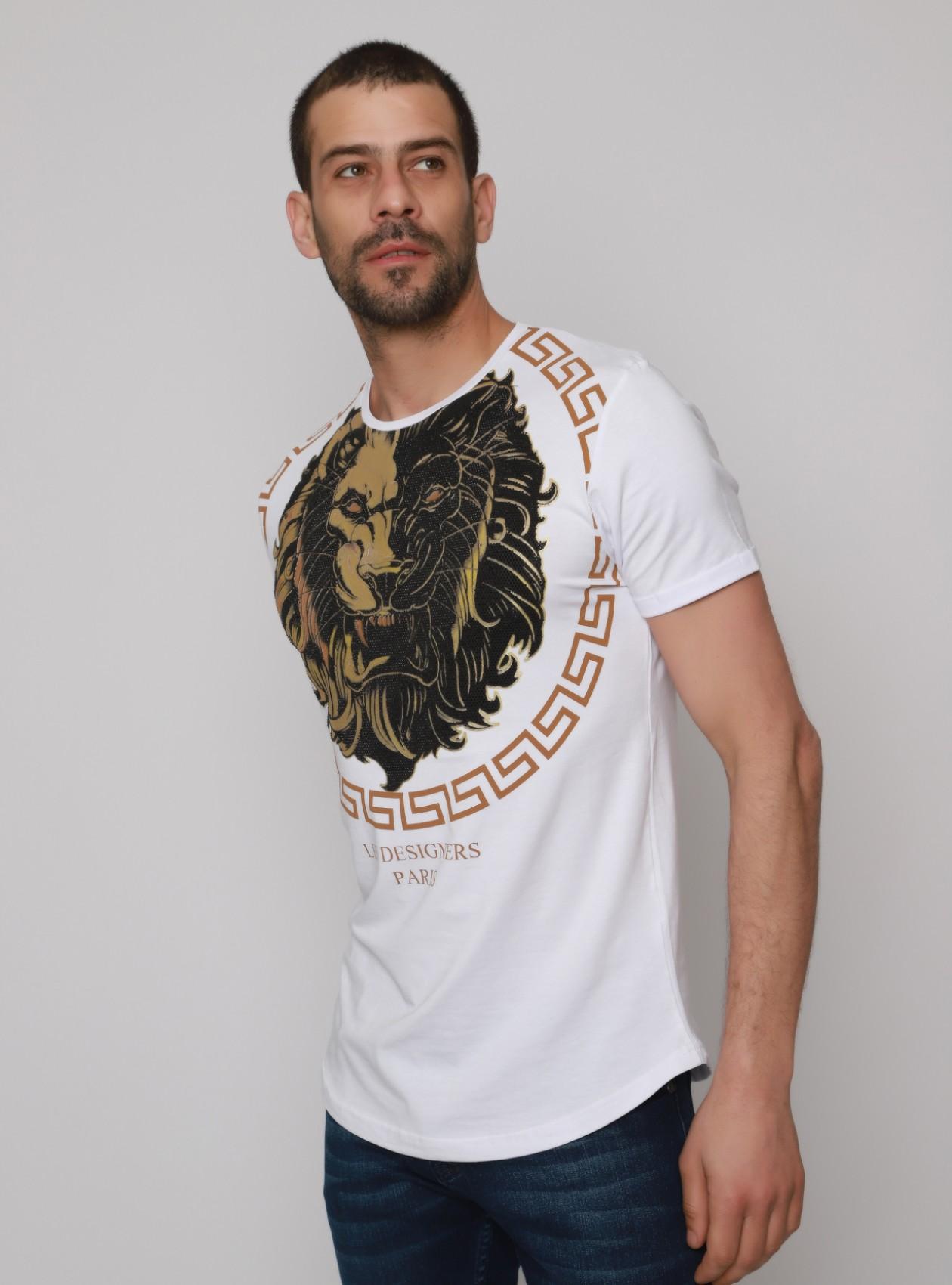 T-Shirt Homme Blanc Original