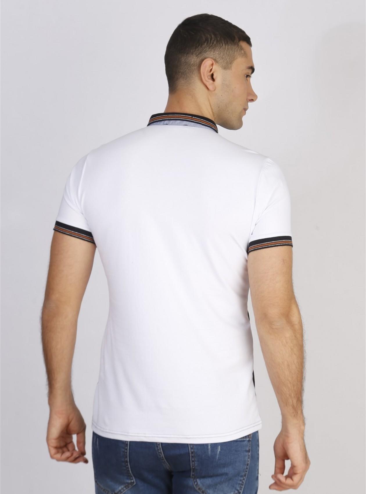Polo Homme Blanc Marque