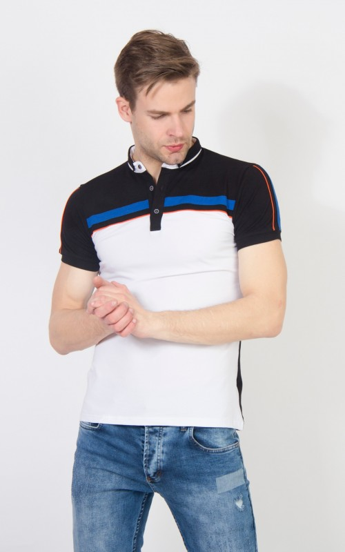 Polo Homme Blanc Original
