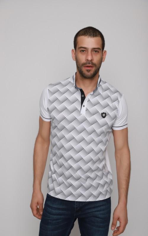 Golf Polo Homme Blanc