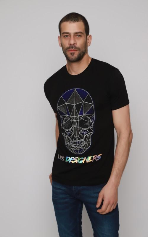 Basic T-Shirt Homme Noir