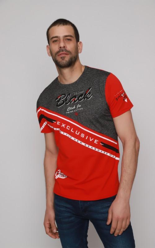 T-Shirt Homme Rouge Original