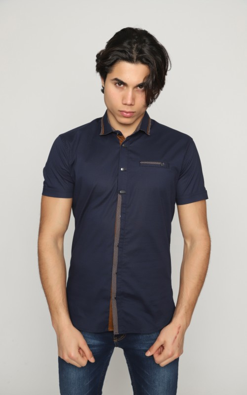 Marque Chemise Homme Marine