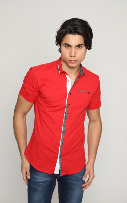 Marque Chemise Homme Rouge