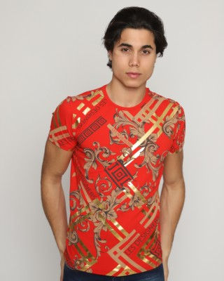 Marque T-Shirt Homme Rouge
