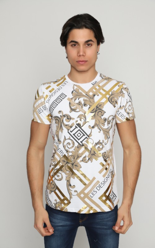 Marque T-Shirt Homme Blanc