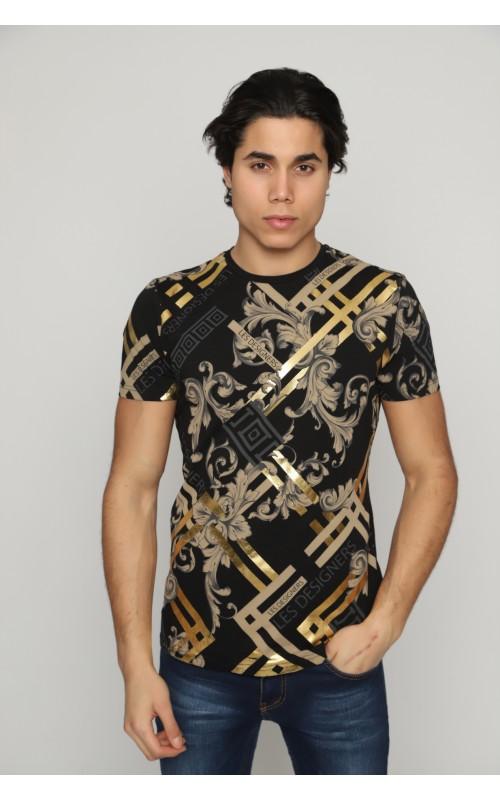 Marque T-Shirt Homme Noir