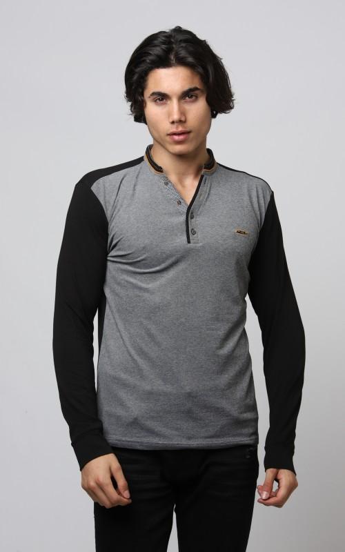 Basic Polo Homme Noir