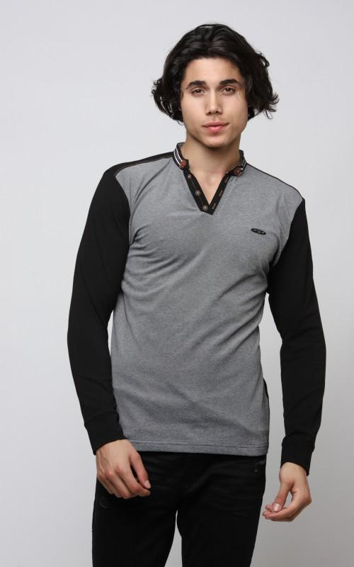 Slim Tshirt Homme Noir