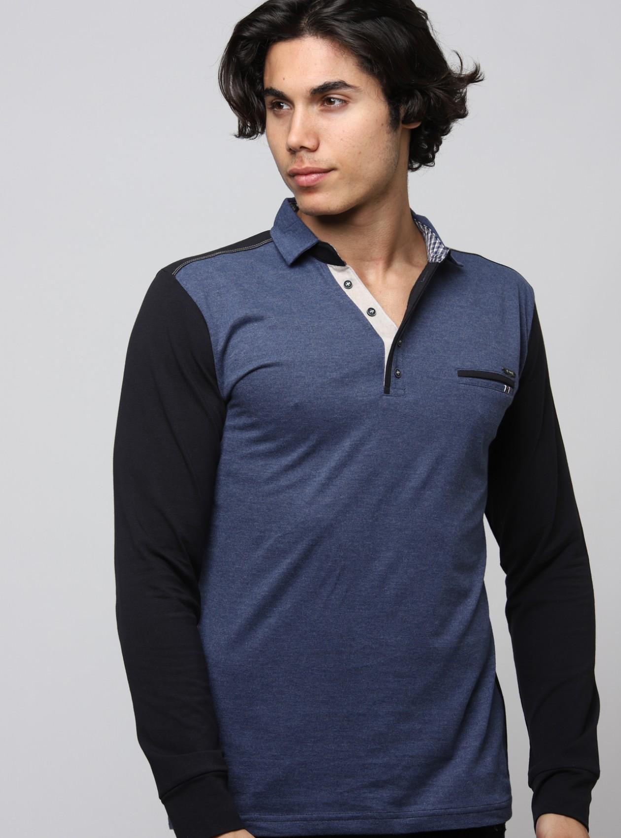 Original Polo Homme Bleu