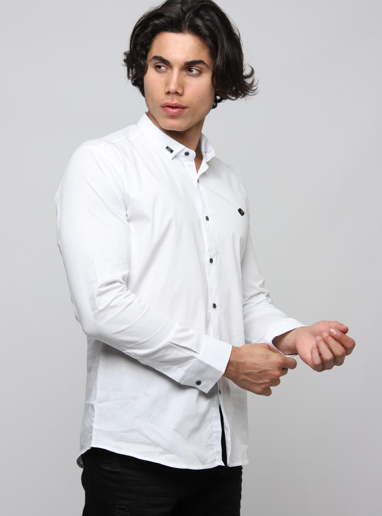 Marque Chemise Homme Blanc