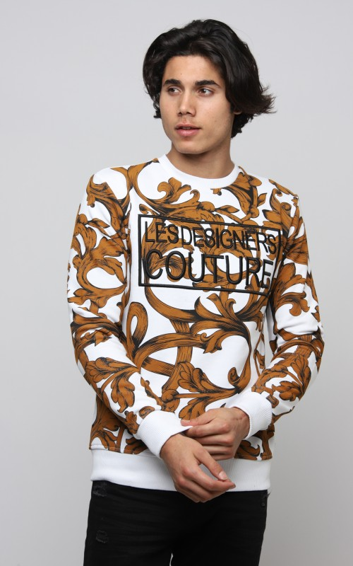 Original Sweatshirt Homme Blanc