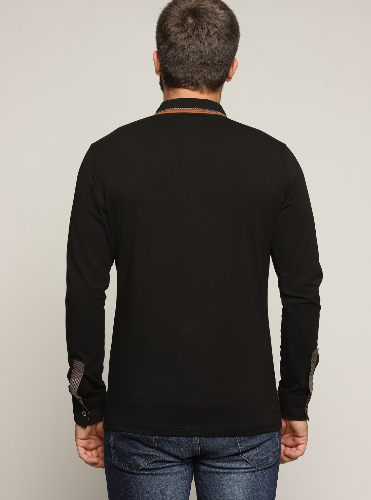 Casual Chemise Homme Tabac